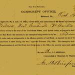 Civil War Exemption Certificate